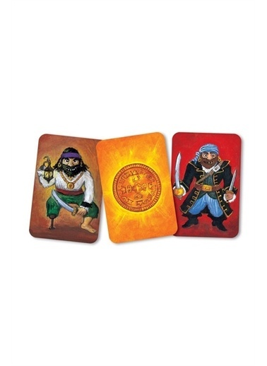 Djeco Djeco Kart Oyunları / Piratatak Pembe